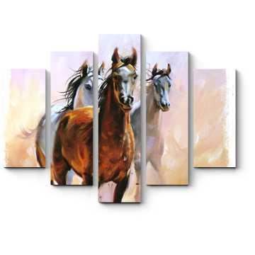 Трио бегущих по пустыне