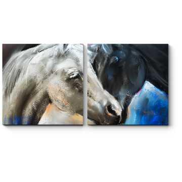 Влюбленные лошади