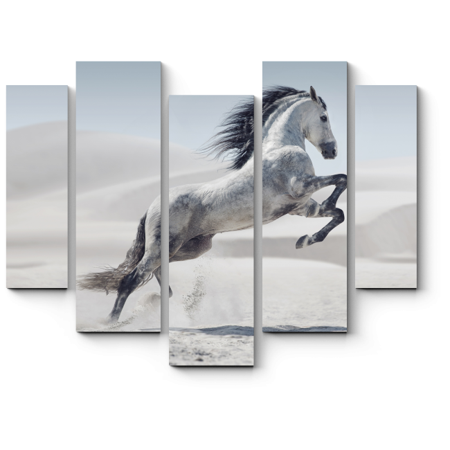 Модульная картина Величественный прыжок