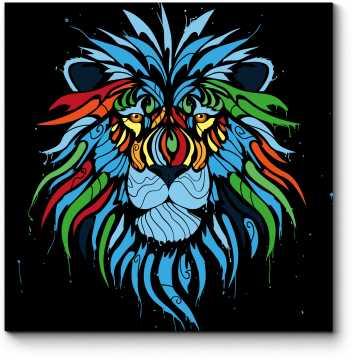 Царь зверей во всей красе