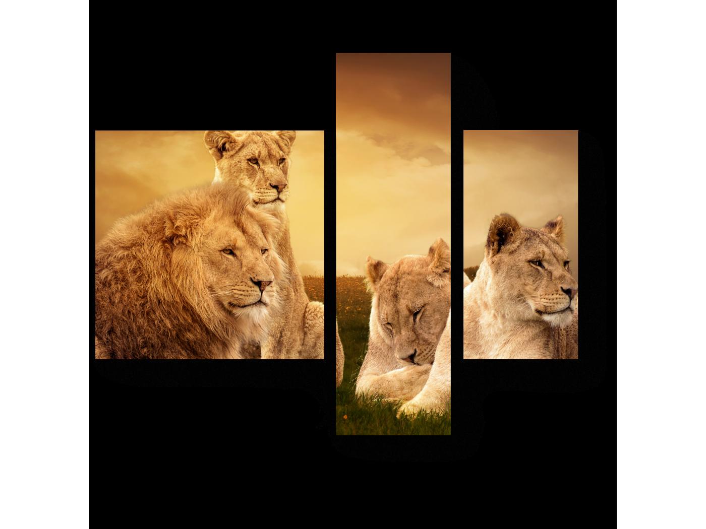 Модульная картина Королевская семья (80x66) фото