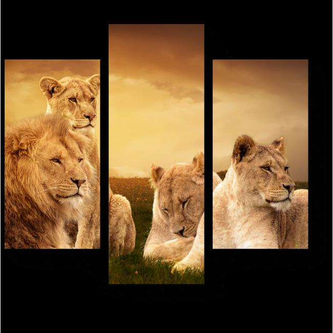 Модульная картина Королевская семья