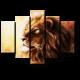 Великий и могучий лев
