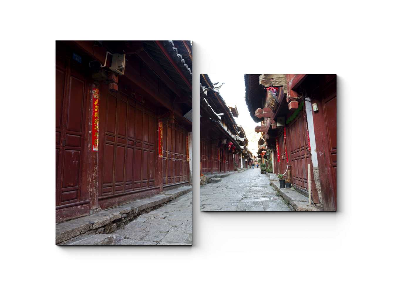 Модульная картина Неповторимый колорит Китая (40x30) фото