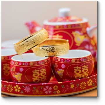 Модульная картина Приглашение на чаепитие