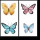 Квартет бабочек