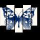 Бабочка, акварель