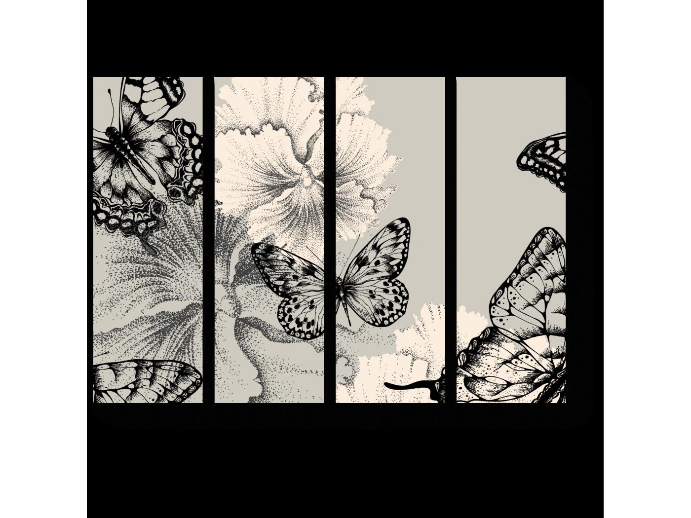 Модульная картина Цветение нашей жизни (60x45) фото