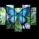 Прекрасная бабочка отдыхает