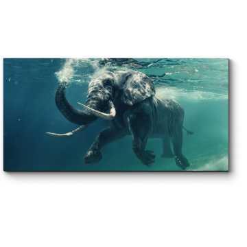 Модульная картина Слон покоряет океан