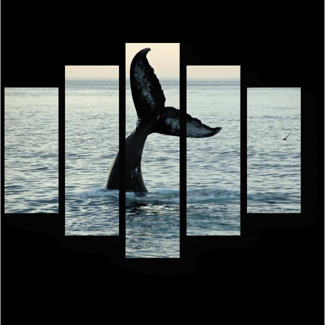 Модульная картина Прощание кита