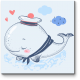 Маленький китенок