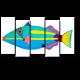 Яркая рыба