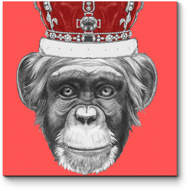 Модульная картина Коронованная особа
