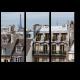 Классические домики старого Парижа