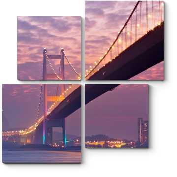 Мост в сумерках