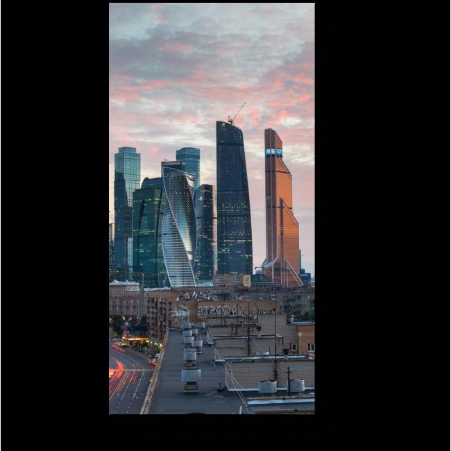Модульная картина Манящая перспективами Москва
