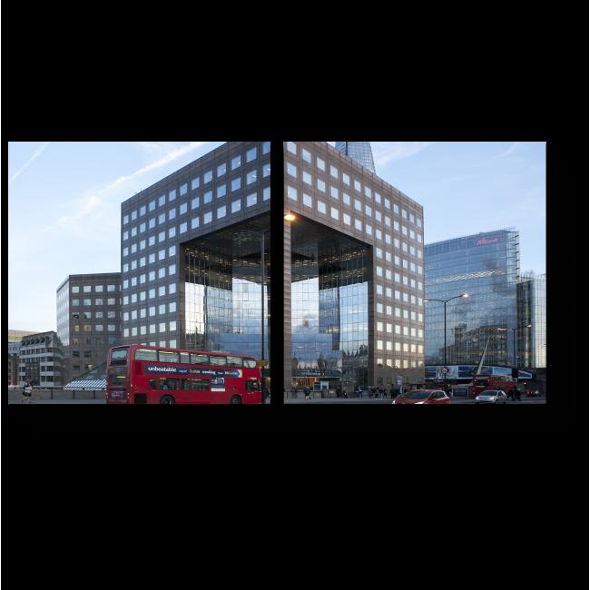 Модульная картина Современная архитектура Лондона