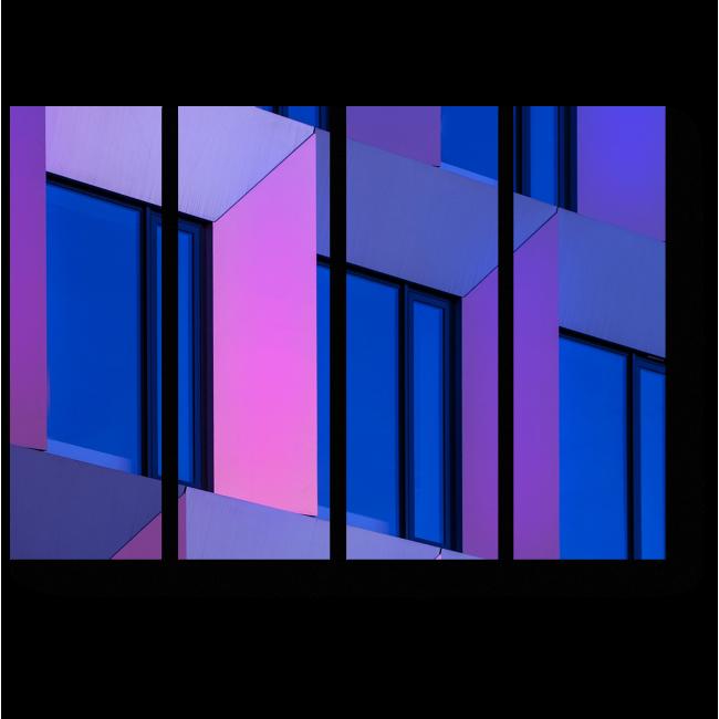 Модульная картина За окнами