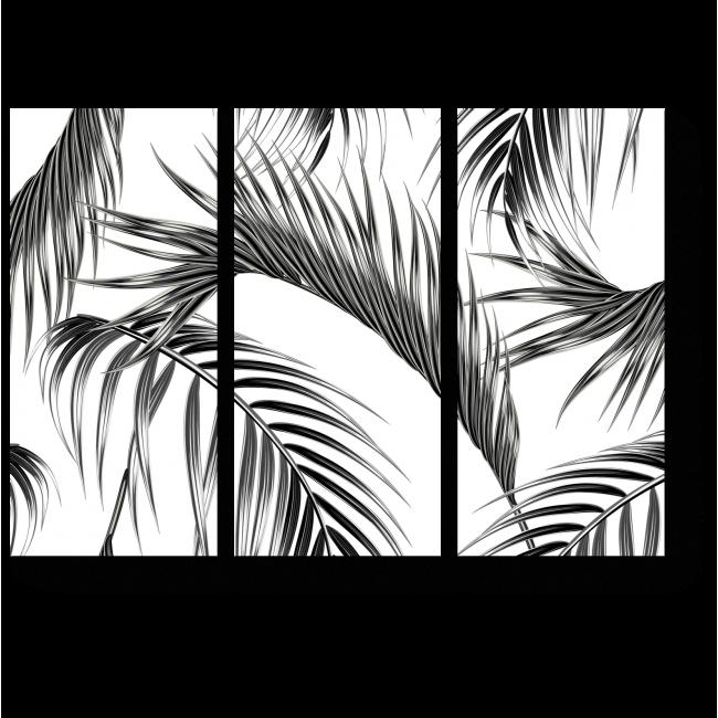 Модульная картина Листья