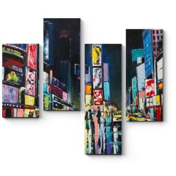 Нью-Йорк, Таймс-сквер.