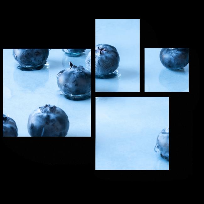 Модульная картина Манящая голубика