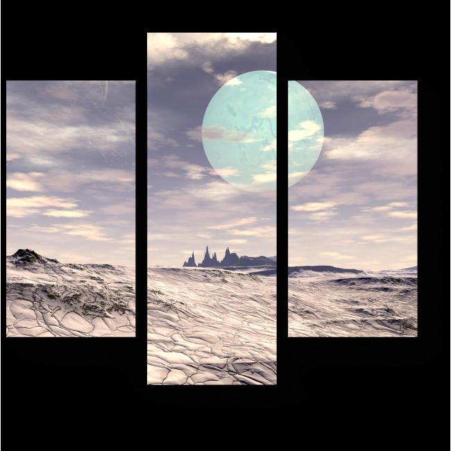 Модульная картина Циферблат