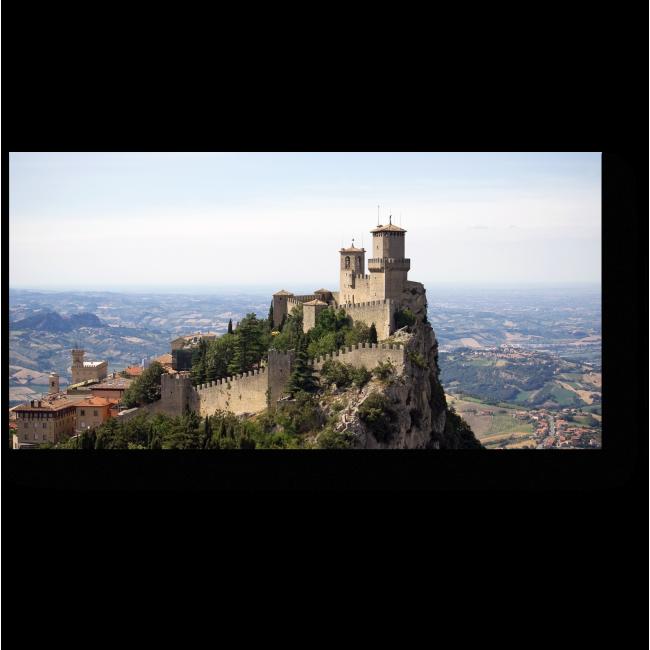 Модульная картина Замок Сан Марино