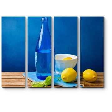 Гармония синего и желтого