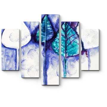 Модульная картина Яркий листопад
