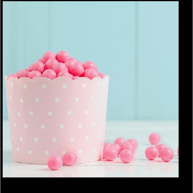 Модульная картина Розовые конфетки
