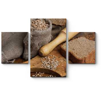 Модульная картина Будни пекаря