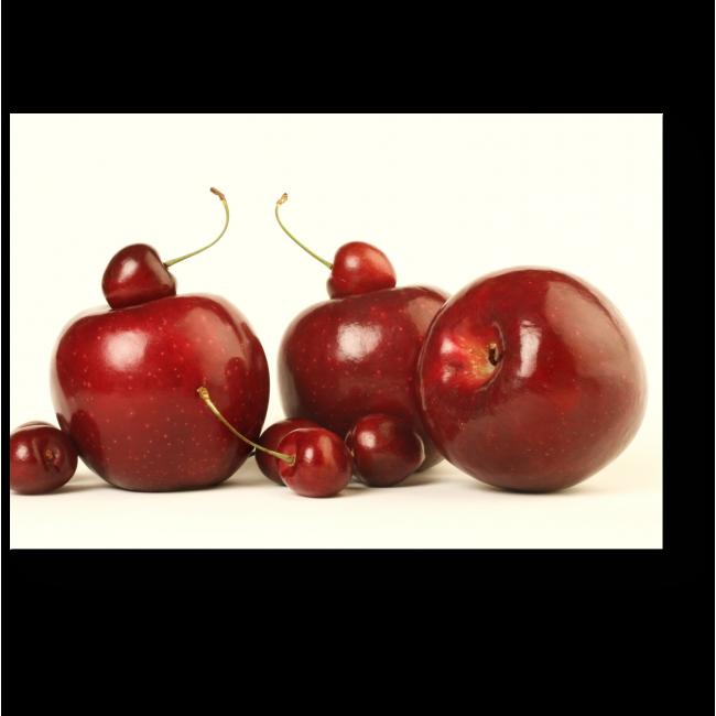 Модульная картина Вишнево-яблочное настроение