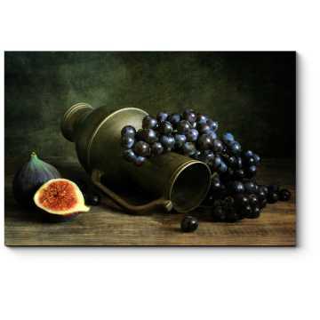 Манящая гроздь винограда