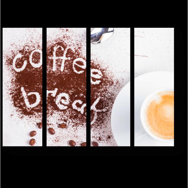 Модульная картина Кофе брейк