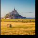 Неповторимый Мон-Сен-Мишель на закате, Франция