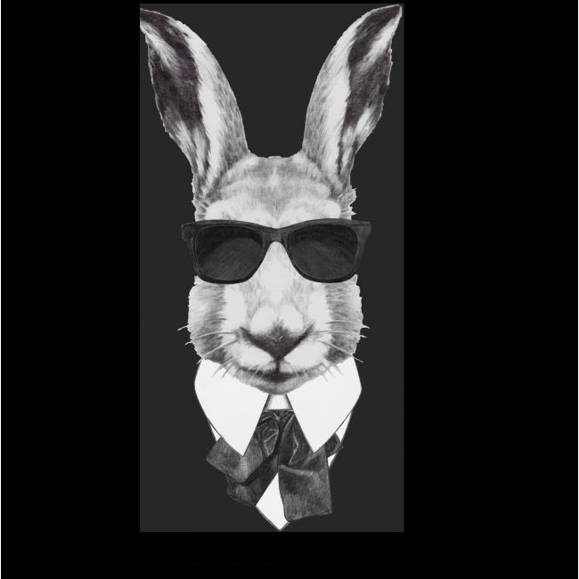 Модульная картина Заяц - секретный агент