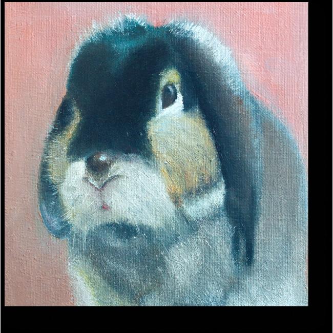 Модульная картина Крольчонок