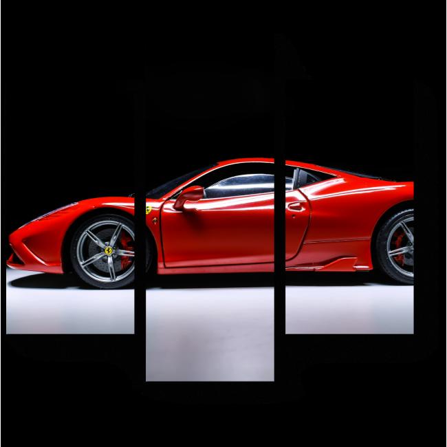 Модульная картина Ferrari 458