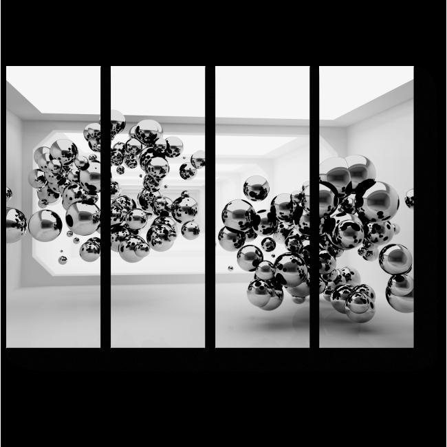 Модульная картина Шары