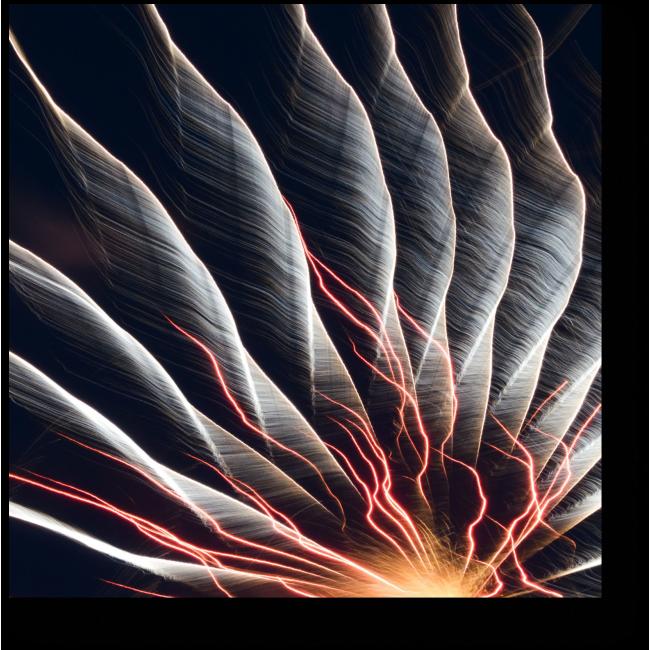 Модульная картина Всплески энергии