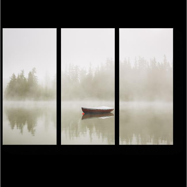 Модульная картина Туман наступает
