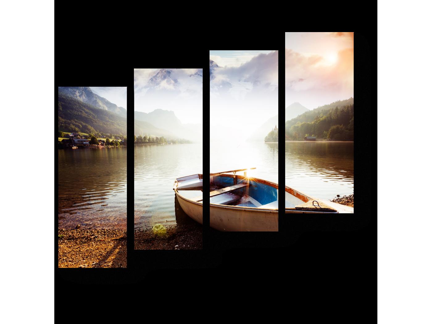 Модульная картина Яркий солнечный день (80x69) фото