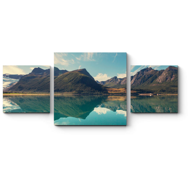 Модульная картина Горы и вода