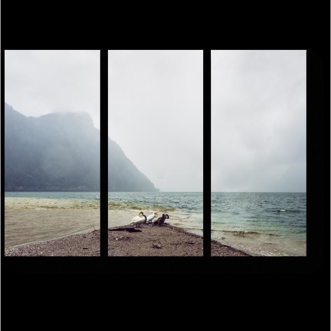 Модульная картина Отдых на берегу