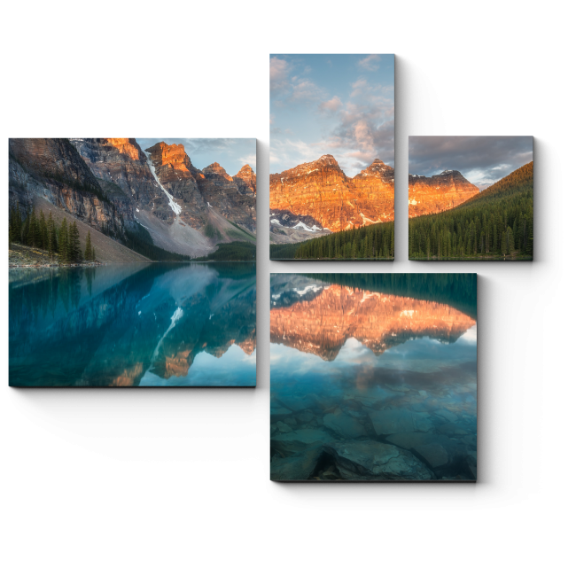 Модульная картина Совершенство природы