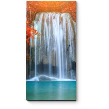 Модульная картина Водопад Эраван, Таиланд