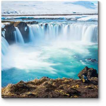 Грандиозный водопад Исландии