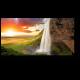 Живописный водопад в Исландии