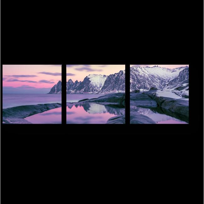Модульная картина Скандинавский пейзаж